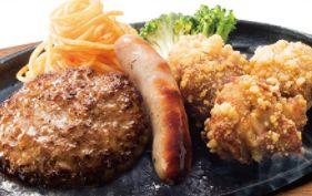 ソーセージ&鶏の唐揚げ