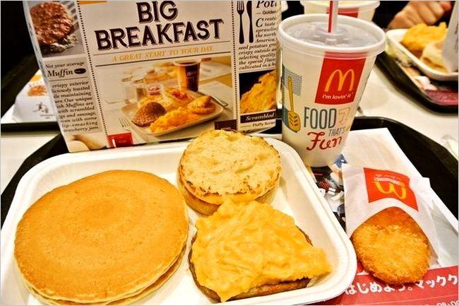 マクドナルドの朝マック
