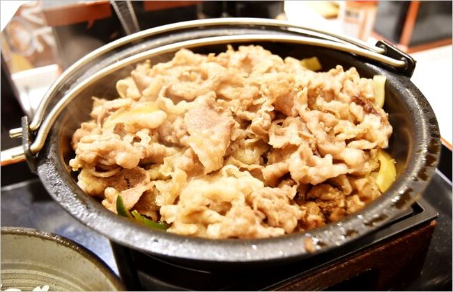牛すき鍋膳 値段