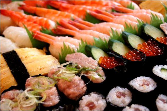 かっぱ寿司のメニュー