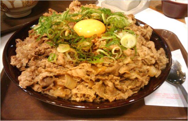 すき家の牛丼キング