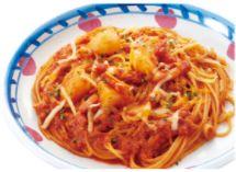 3種チーズとポテトのトマトミートソース