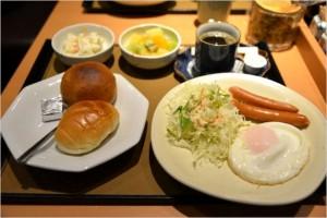 朝食メニューの値段
