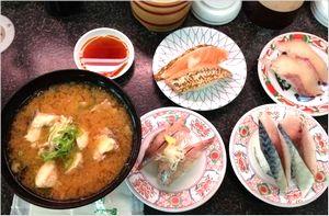 ヤマサ水産の回転寿司